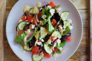 easy healthy watermelon chicken salad summer